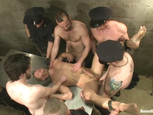 Bound in Public. Lockup Cell Extraction and Prison Sex Part Two
