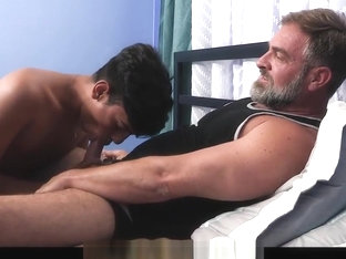 FamilyDick - Daddy Seduces Spanish Twink