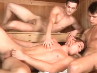 Horny male in exotic twinks, blowjob gay sex video