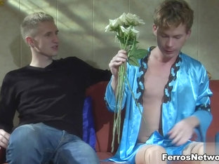 TryPantyhose Video: Connor A and Silvester