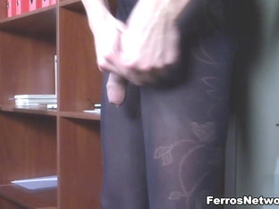 TryPantyhose Video: Augustus and Austin A