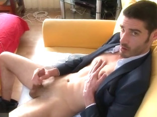 Pierre handsome str8 salesmale in a porn in spite of him ! – Full video