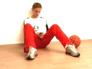 Teen Basketball Jock