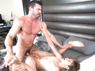 Billy Santoro & Adam Awbride in Seducing Adam - IconMale