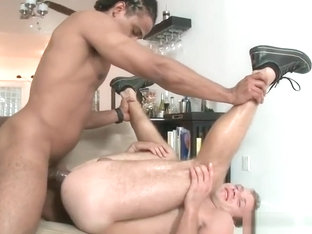 Hanz riding massive black cock part4