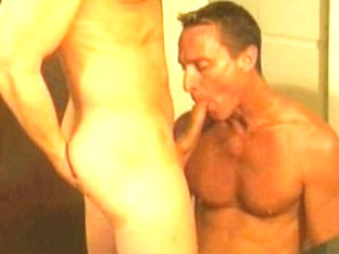 Best male pornstars Scott Mann and Collin Jennings in hottest masturbation, swallow gay sex movie