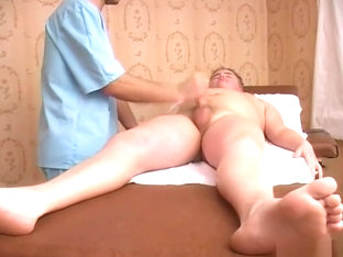 Chubby boy for massage