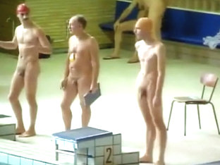 Naturist swimming competition