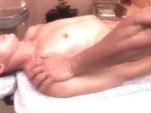 Straighty gay massage seduction