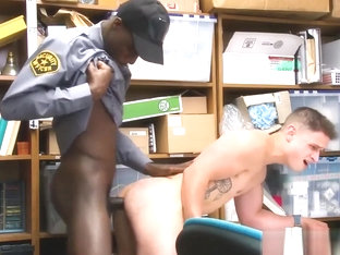 Porno gay police blacks Petty Theft.
