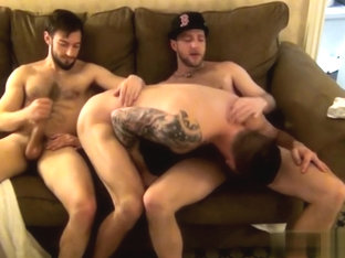 Hot bear anal with anal cumshot