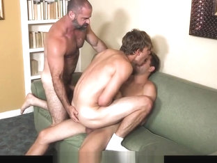 Father and Son Sucks and Rides Twinks Big Cock