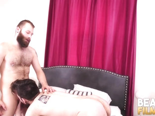 BEARFILMS Young Big Bear Claudio White Swaps Head And Fucks
