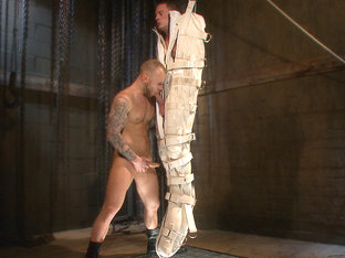 Enhanced Interrogation: Detained Stud Faces a Horny, Sadistic Agent