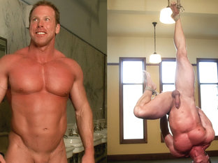 Derek Pain - The only competitive bodybuilder in the world who could handle the one leg suspension.