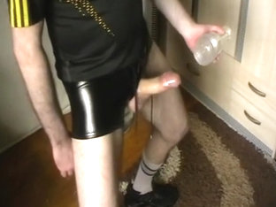 hung irish scally fleshlight fucker in black lycra shorts & nike gear