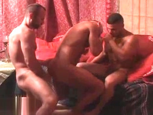 Awesome Threesome: Collin, Francois Sagat Said