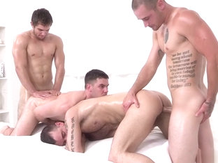 4-Some with Extreme lots of Oil