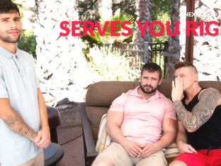 Gunner & Mathias & Ty Mitchell in Serves You Right - NextdoorWorld
