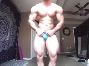 Horny MuscleBoy in Tight ass jeans