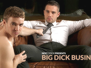 Dylan Knight & Gabriel Cross in Big Dick Business XXX Video - NextdoorBuddies
