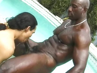 Latin Gay Sucks Off Big Black Boner