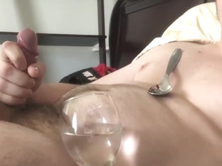 Holy Fuck! I CUM 6 Times! Drinking & Eating Cum Until My Balls Are Drained!