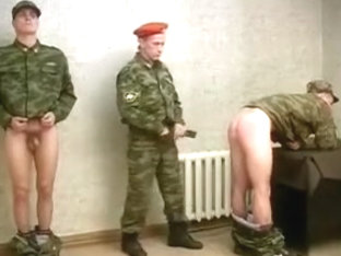 Spank Me Sergeant - Soldiers Jerking Off