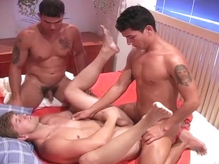 Euro Stud Hooks Up With Two Brazilians