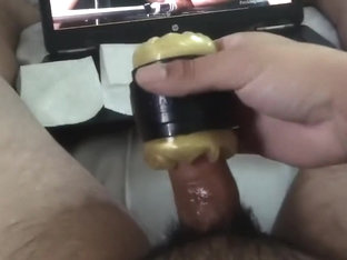 Using Fleshlight Quickshot while parents are in house!