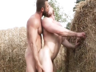 Farmhands Plowing