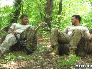 Jason Maddox & Kaden Alexander in The Hunt Part 3 - DrillMyHole