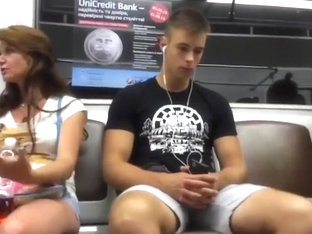 Bulge - Hot guy on metro