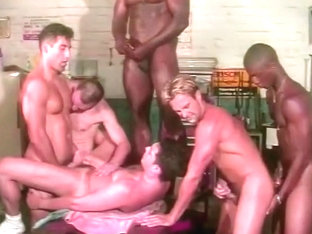 A Workshop Turns Into A Group Gay Pounding Session