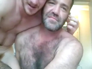 Cute Young Ginger Fucks then Breeds Hairy Daddy's Sweet Ass