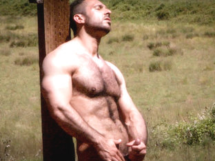 Adam Champ in Alone On The Range, Scene #06