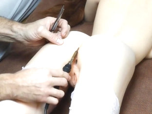 Sweet babe Mandy assfuck and pussy repair