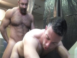 Brad Kalvo and Nick Tiano bareback