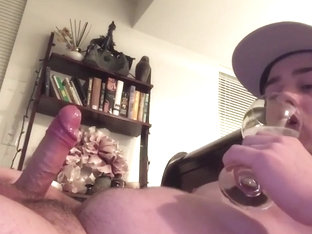 Drinking My Cum Makes Me Horny! Continuous Cumming! Guess I'm a Cumslut? ;p