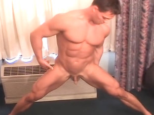 Big Ripped Bodybuilder with a Small Dick