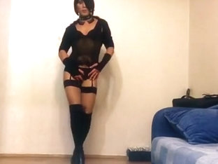 Crazy amateur gay video with Crossdressers, Fetish scenes