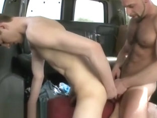 Straight first gay blowjob with wife stories xxx The Big Guy On BaitBus!