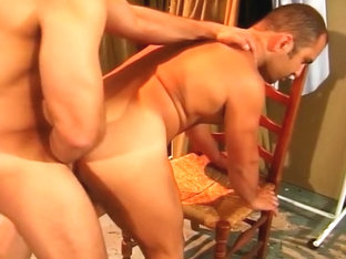 Hot Hunks Fucking in Dressing Room