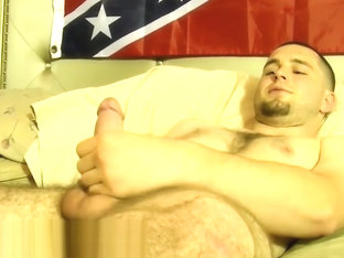 Horny redneck Seg gets mouth fucked by nasty fat dude