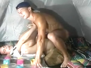 Horny Camping Guys Sucking and Fucking