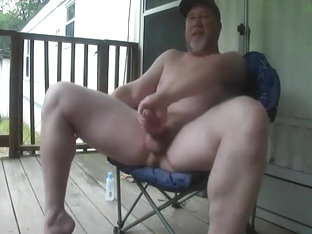 Daddy Redneck with a big Dick jerks off