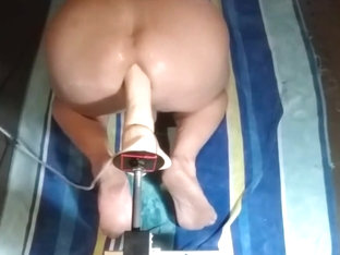 Machine Fucked By My 24 inch Mr Ed 01