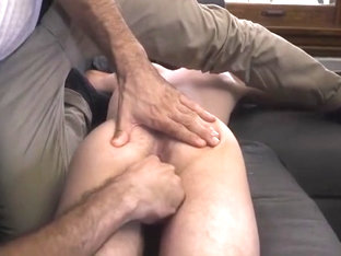 familyDick - son gets finger fucked by dad