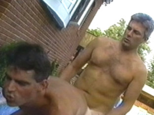 Crazy male pornstars Eric Carter and Jay Richards in fabulous group sex, rimming gay xxx movie