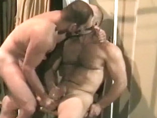Hottest male in crazy bears, vintage gay sex clip